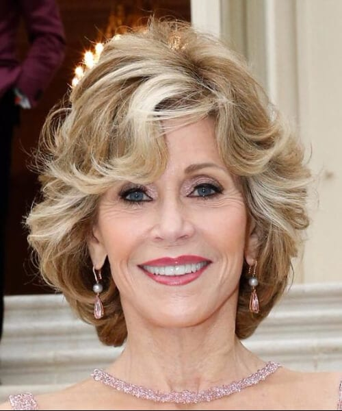 jane fonda hairstyles for women over 50