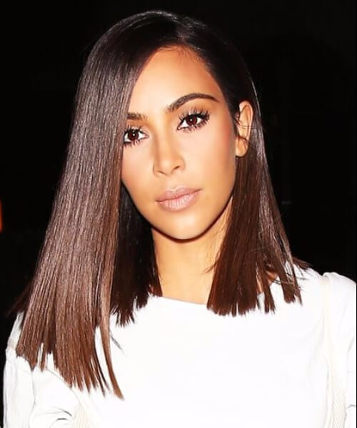 Kim Kardashian Shoulder Length Hair Blonde 76568 Loadtve
