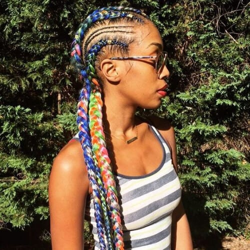 30 Cool Ghana Braids To Inspire You My New Hairstyles