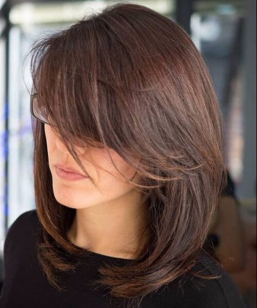 Haircuts With Side Bangs For Straight Hair