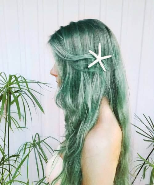 textured waves mermaid hairv