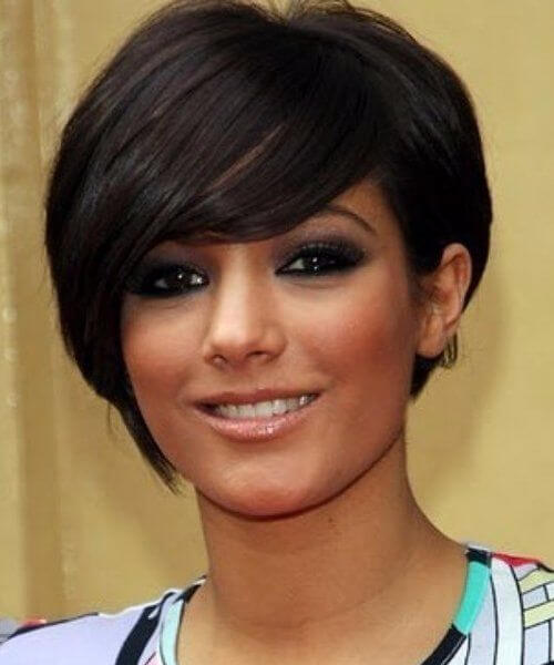Asymmetrical Short Hairstyles For Round Faces