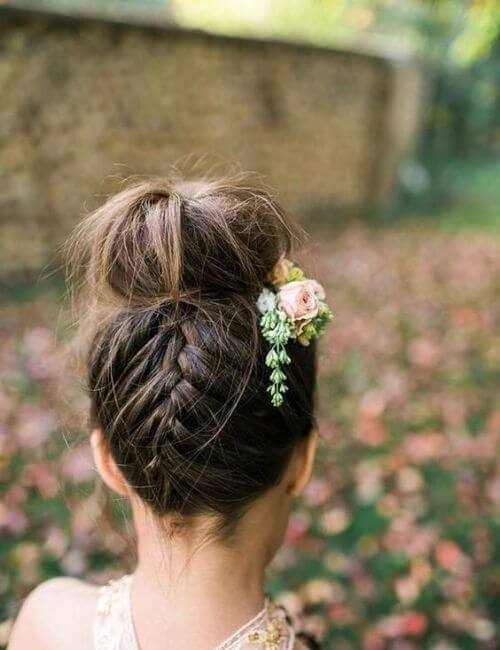 Bridesmaid Hairstyles For Every Wedding My New Hairstyles - Bridesmaid hairstyle bun