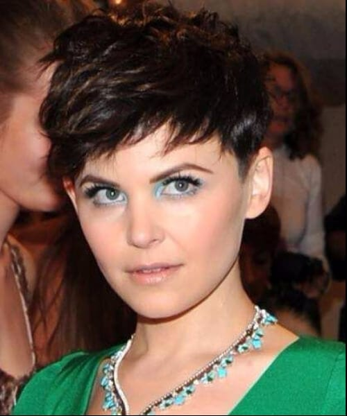 Ginnifer Goodwin updos for short hair