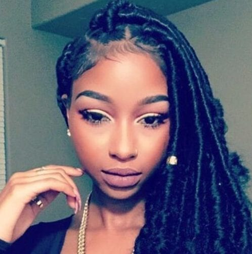 black and gold sew in hairstyles