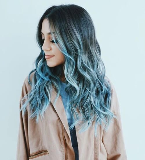 40 blue ombre hair ideas my new hairstyles blue ombre hair urmus Images