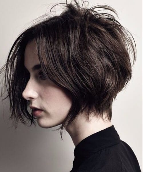 bob shag haircut