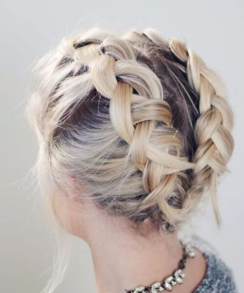 boxer braids updos for short hair