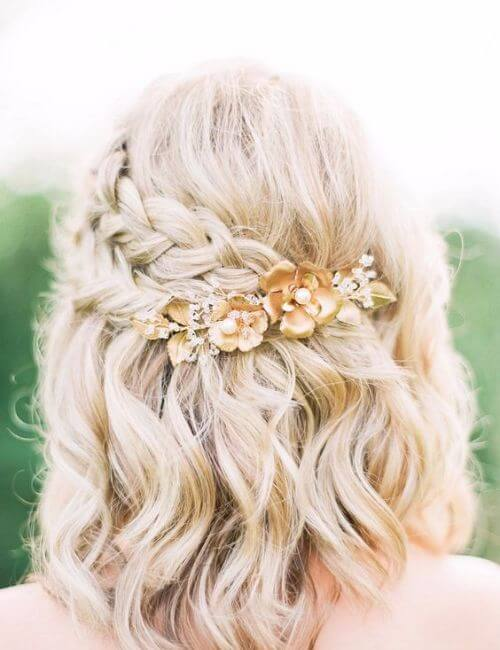 bridesmaids hairstyles cute short hair