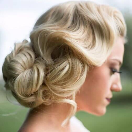 Old Fashioned Wedding Hairstyles: 40 Captivating Wedding Updos