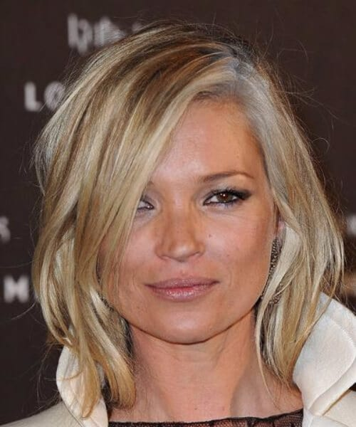 kate moss short blonde hair