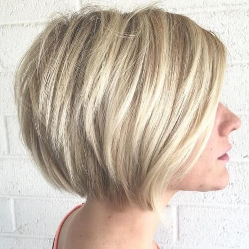 Medium Stacked Bob