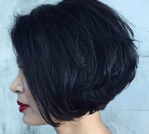 Stacked Chin Length Bob