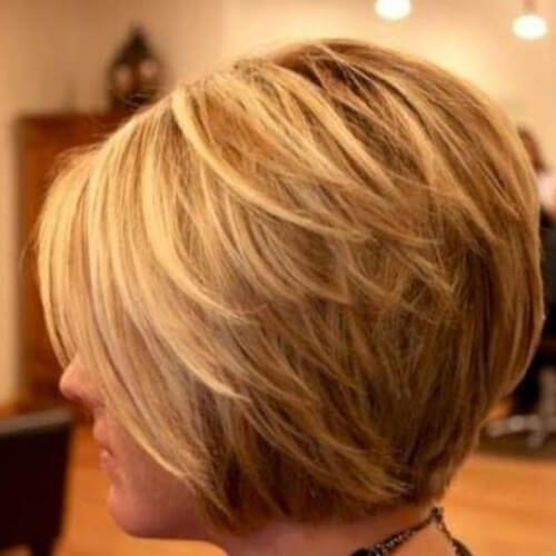 50 Glamorous Stacked Bob Hairstyles