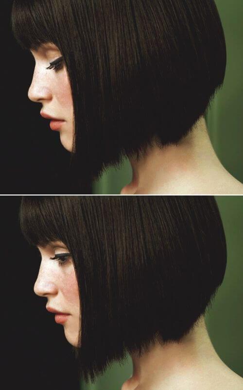 Gemma Arterton short bob blunt bangs short hairstyles
