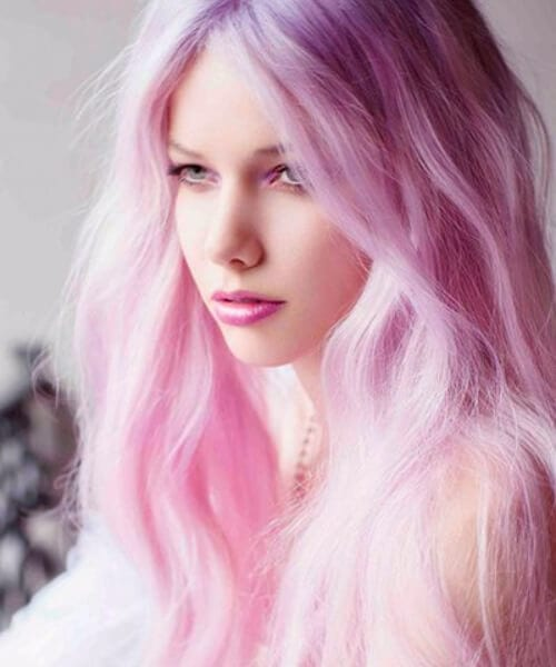 candyfloss ombre hair