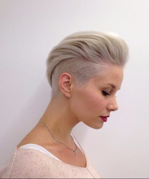 faux mohawk short hairstyles