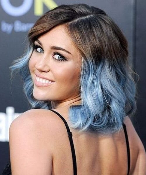 miley cyrus ombre hair
