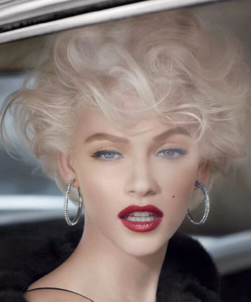 updated Marilyn short hairstyles