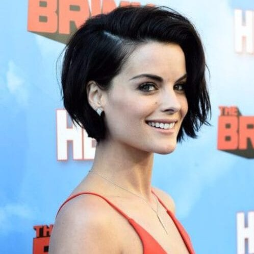Jaimie Alexander long pixie cut
