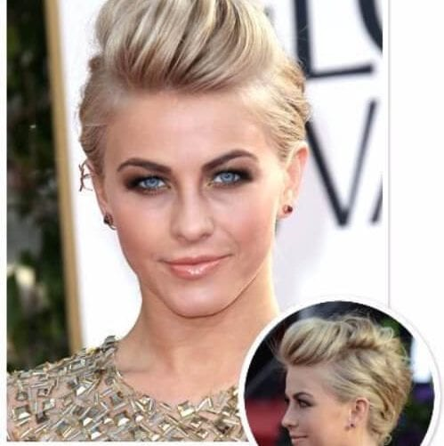 Julianne Hough long pixie cut