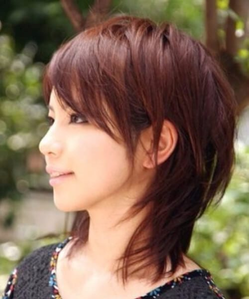Medium Layered Straight hairstyles for thin hair