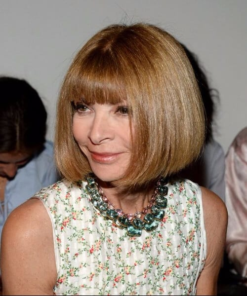 anna wintour hairstyles for women over 40