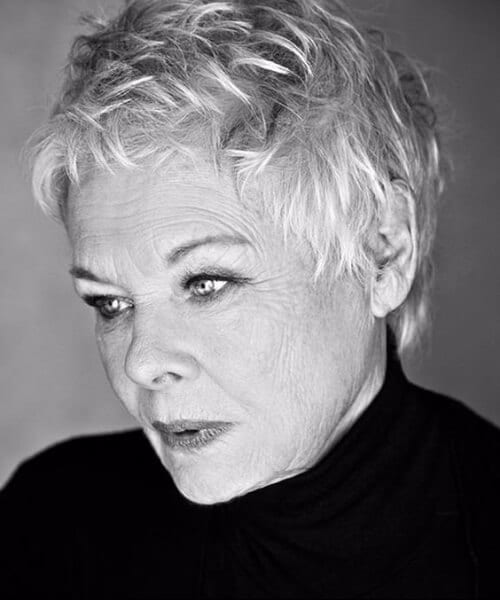 dame judi ench hairstyles for women over 40