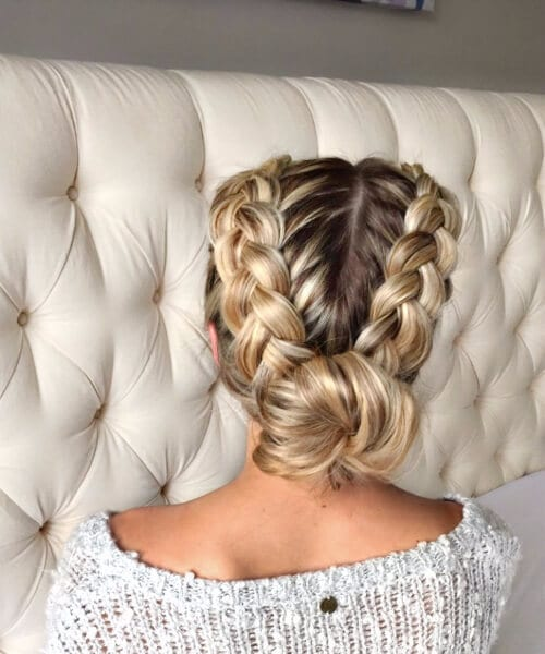 45 Impressive French Braid Hairstyles - My New Hairstyles