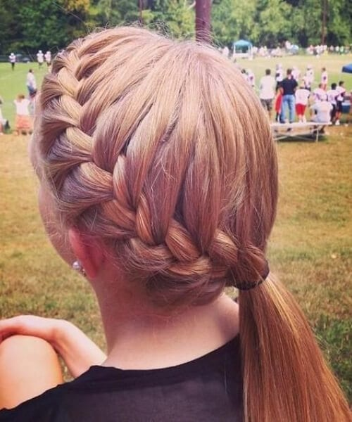 impressive french braid hairstyles