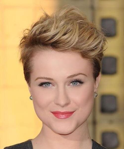 evan rachel wood long pixie cut