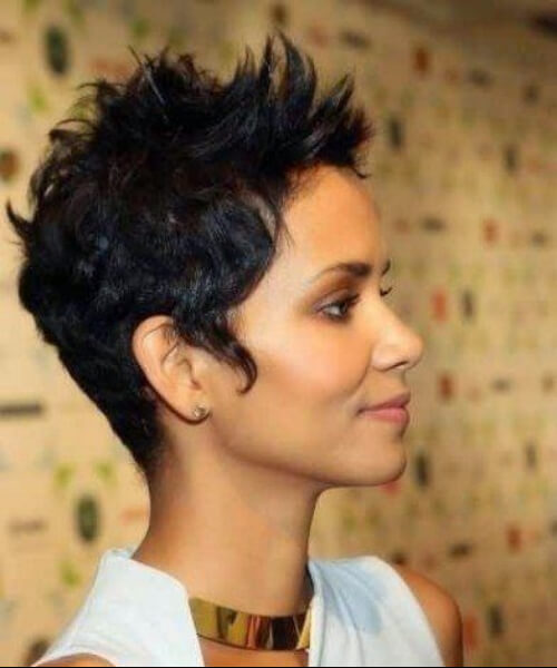 halle berry long pixie cut