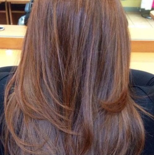 Larga Ronda de Capas de cortes de pelo en capas