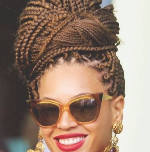 beyonce braids weave hairstyles