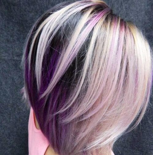 blueberries and cream layered haircuts