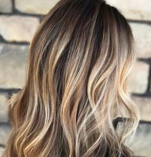 bronde balayage color de pelo