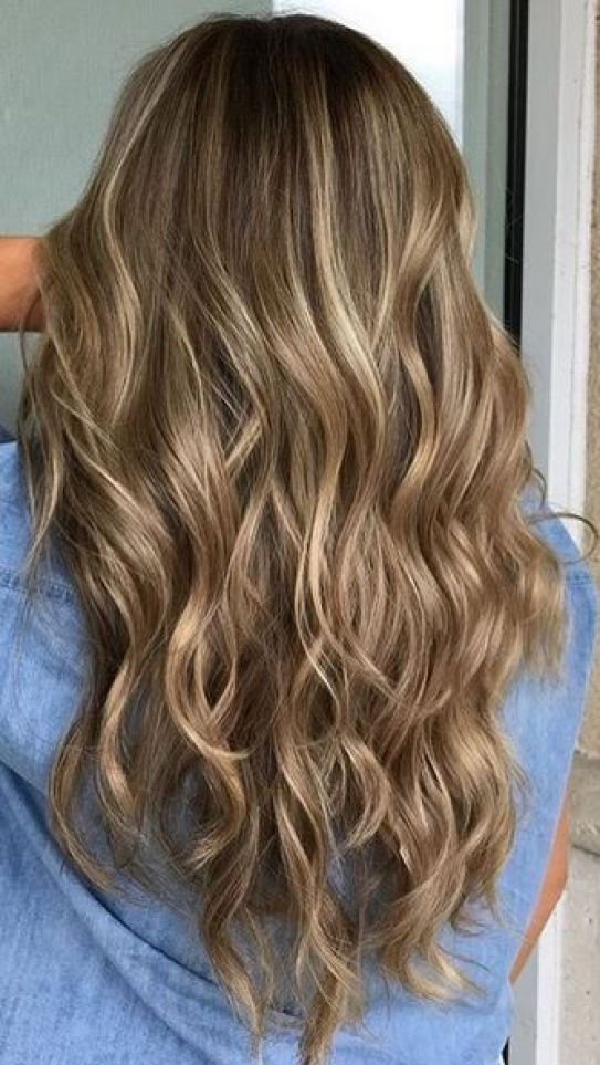 50 Fashionable Ideas for Brown Hair with Blonde Highlights ...