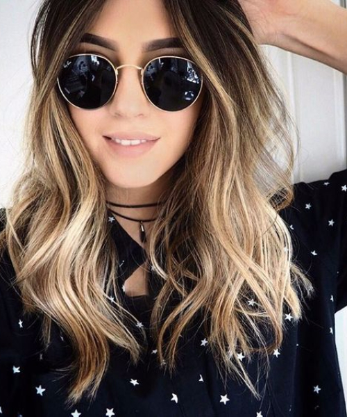 hipster balayage hair color