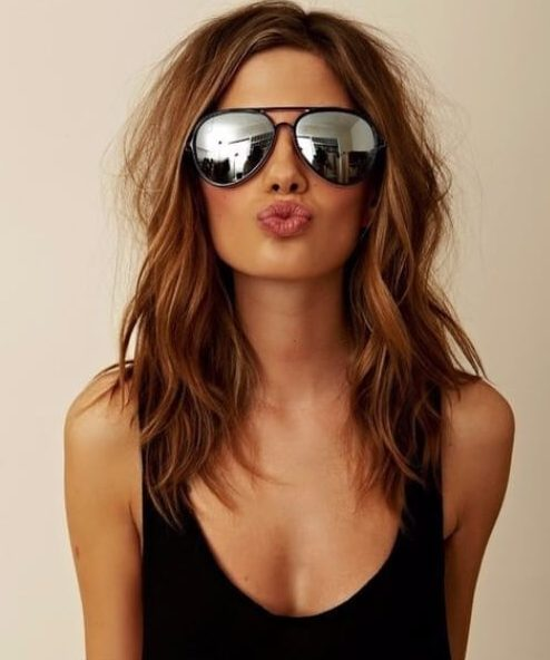 lob layered haircuts