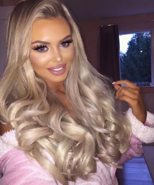 platinum and gold tint weave hairstyles