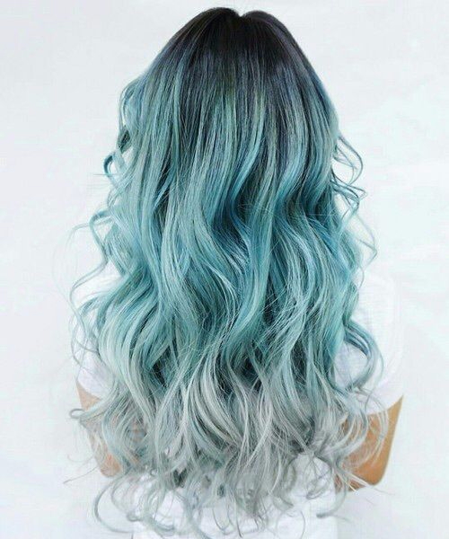 sea foam balayage hair color