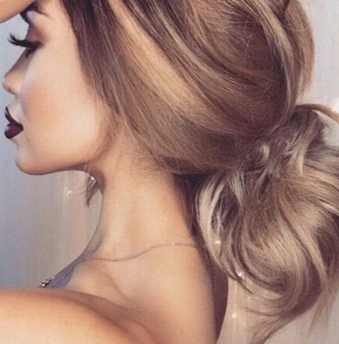 sun-kissed balayage hair color