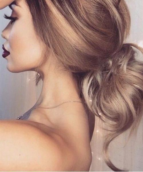 sun-kissed balayage hair color