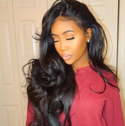 wavy extra long weave hairstyles