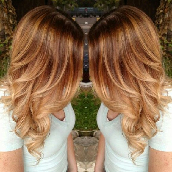 50 fashionable ideas for brown hair with blonde highlights my light brown base with graduated blonde highlights brown hair with blonde highlights urmus Gallery