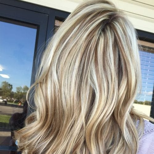 55 Fashionable Ideas For Brown Hair With Blonde Highlights My New