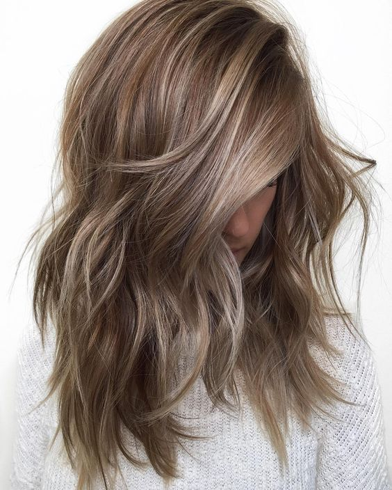 Small highlights brown hair image collections hair extension highlighted brown hair image collections hair extension hair 50 fashionable ideas for brown hair with blonde pmusecretfo Images