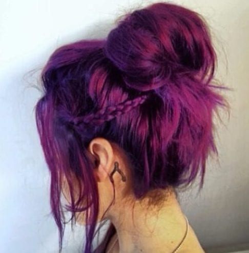 boysenberry plum hair color