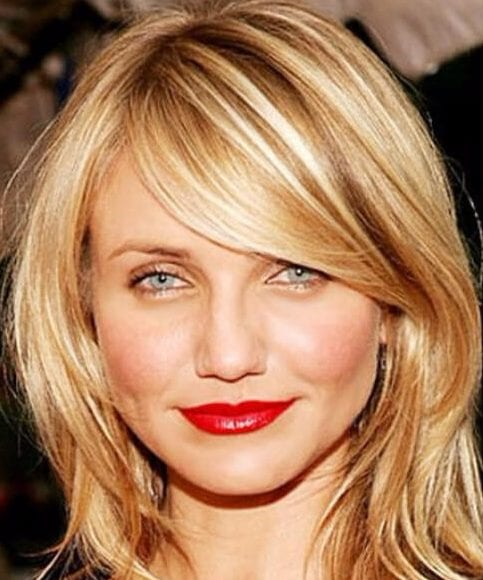 cameron diaz hairstyles with bangs