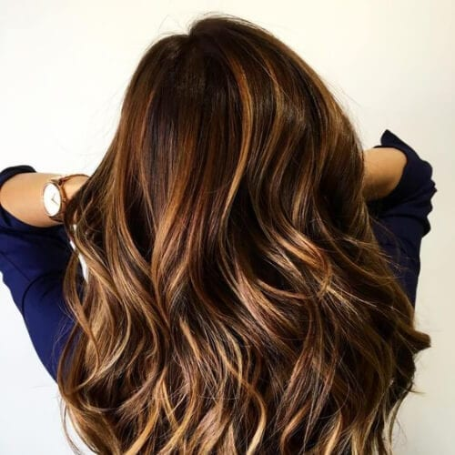 55 Fashionable Ideas for Brown Hair with Blonde Highlights - My ...